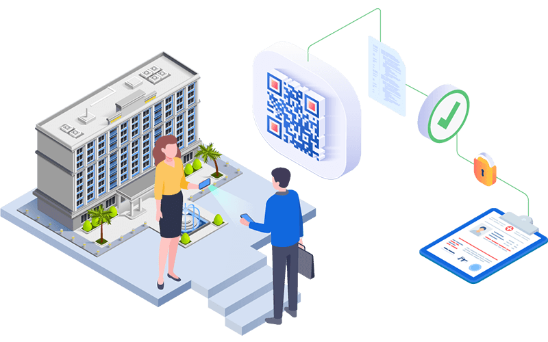 Q-Authenticator provides controlled access to buildings